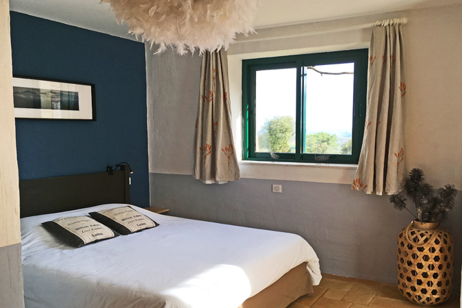 Master bedroom in Le Cellier gite ,Dordogne