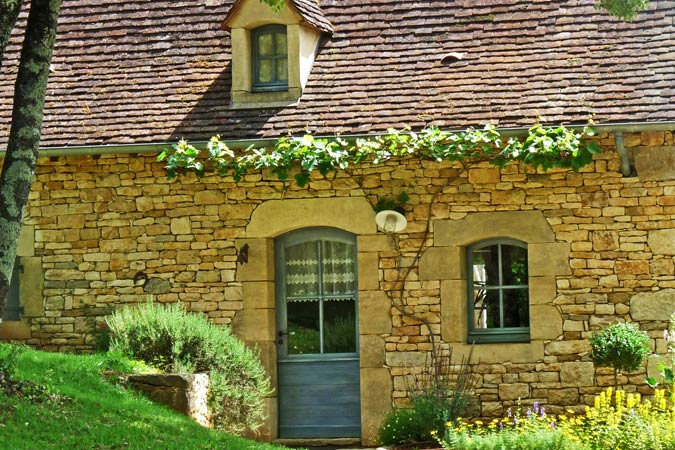 Typical architecture of the Périgord in the Petite Borde gite, Sarlat