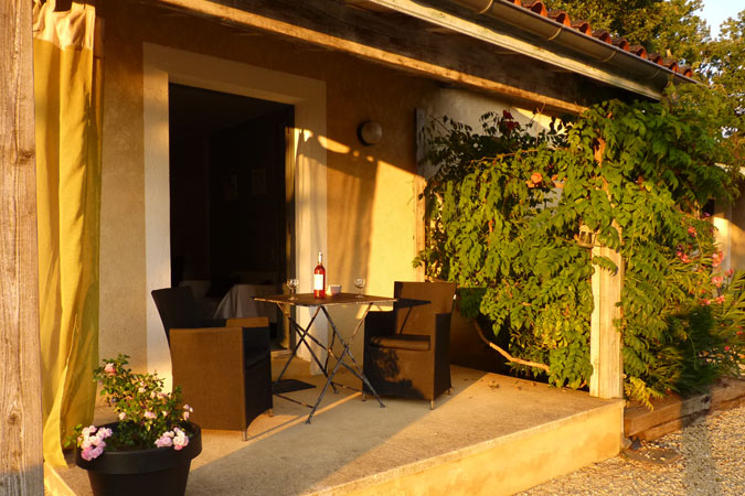 Studio apartment with terrace for rent in Sarlat